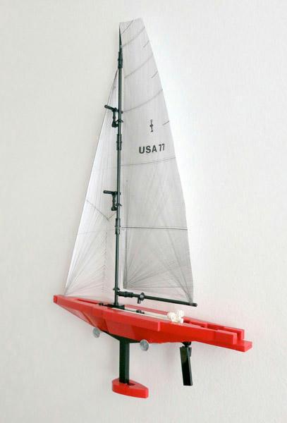 レゴ製 IACCのヨット