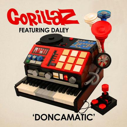 GORILLAZのCDジャケットをレゴで作るとこうなる