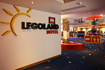 レゴランドホテルの内装