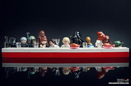 レゴで「最後の晩餐」