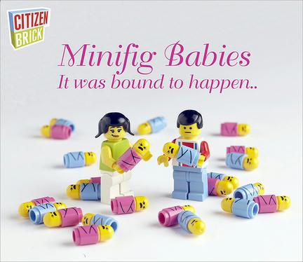 ミニフィグの赤ちゃん
