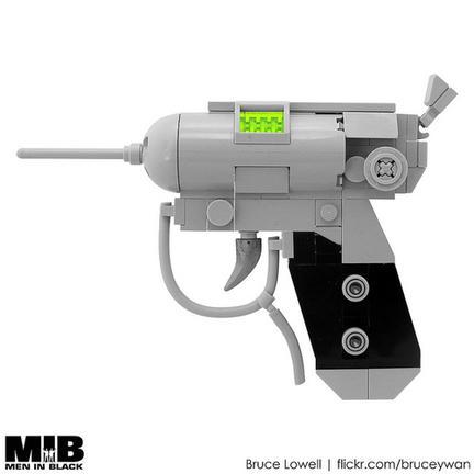レゴ製MIBの小さな銃