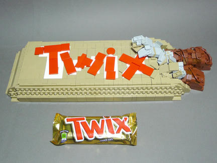 レゴで作ったTwix