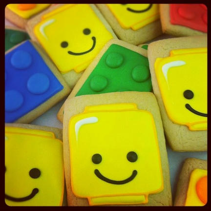 LEGOクッキー