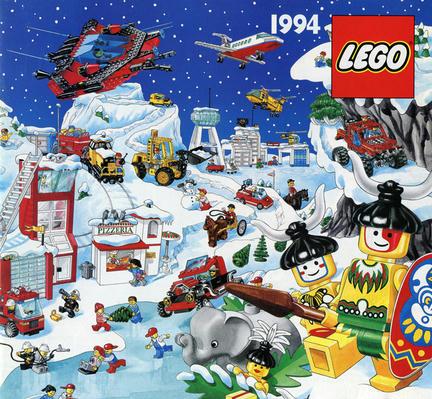 1994年のLEGO製品カタログの表紙