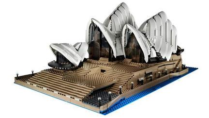 LEGOの特大オペラハウス