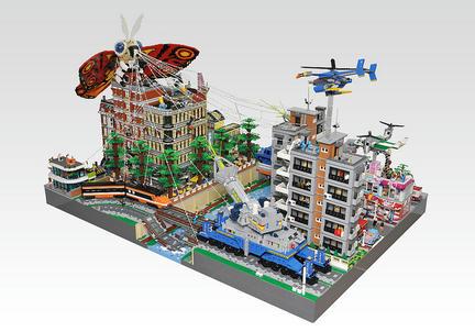 LEGOモスラ