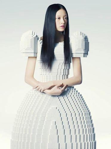 レゴ・ウェディング・ドレス