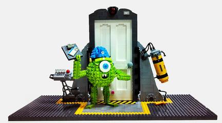 レゴ製マイク・ワゾウスキー