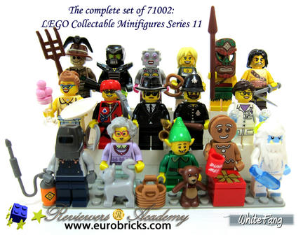 LEGOミニフィグコレクション シリーズ11