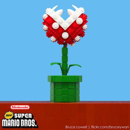 LEGOパックンフラワー