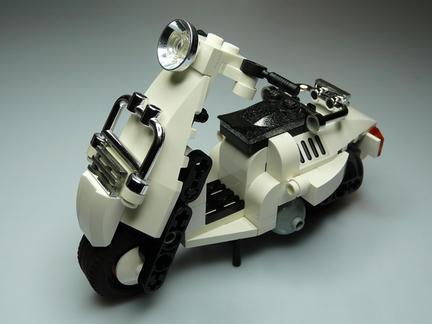 LEGOスクーター