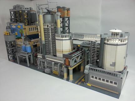 LEGO製の工場