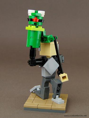 LEGOパペットマン