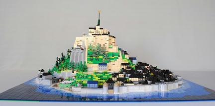 LEGO製のモン・サン=ミシェル