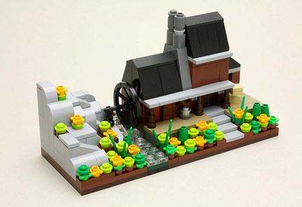 マイクロスケール水車小屋