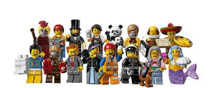ミニフィグコレクション12は「レゴ・ムービー」の登場キャラ