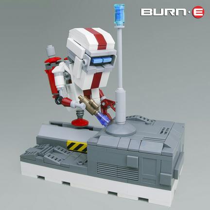 映画『WALL・E』スピンオフのキャラクター「BURN・E」