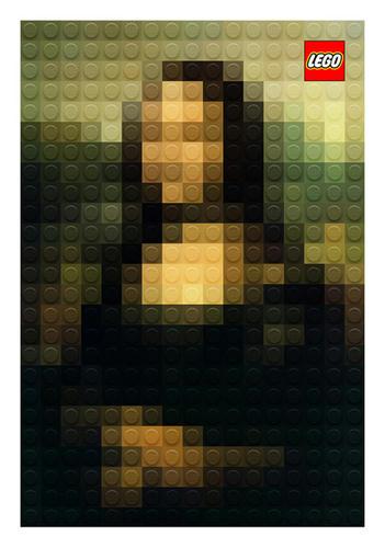 LEGOモナリザ