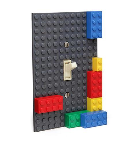 LEGOでスイッチカバー