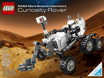 CUUSOO#5 火星探査機「キュリオシティ」