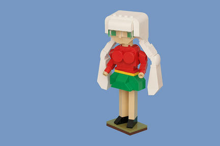 LEGO眼鏡ちゃん
