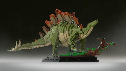 LEGOステゴサウルス