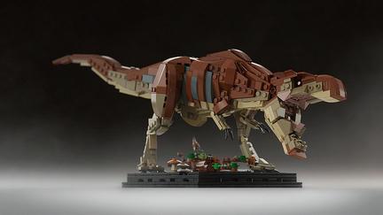 LEGOティラノサウルス