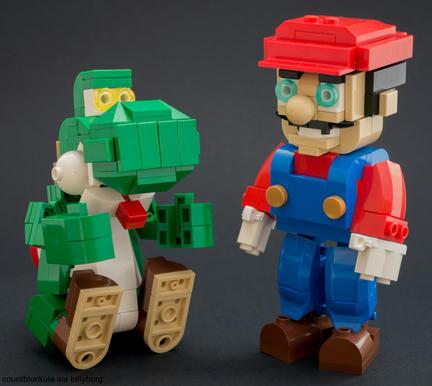 レゴのマリオandヨッシー