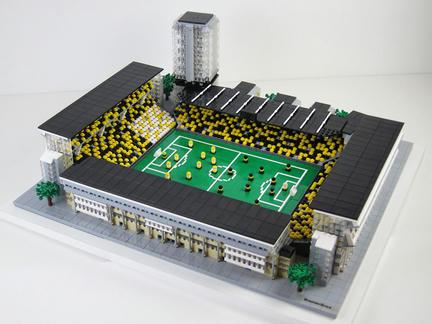 レゴ製ロースンダ・スタディオン