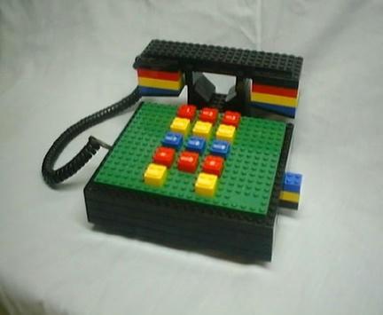 LEGO社公認の据え置き電話