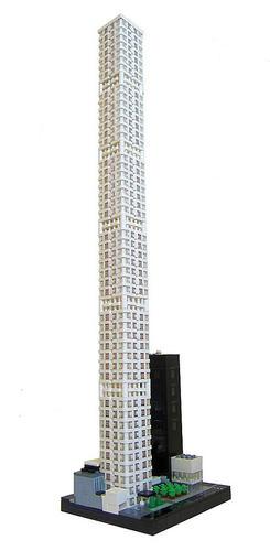 LEGO製の「432パーク・アベニュー」
