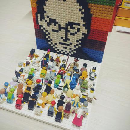 LEGOジョブズ崇拝