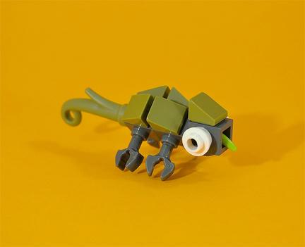 LEGOミニカメレオン