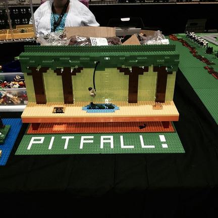 なつかしの「ピットフォール」をレゴで