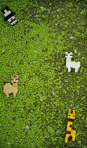 LEGO草食動物