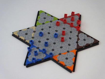 LEGOでダイヤモンドゲーム
