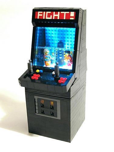 LEGOな格ゲーゲーム筐体
