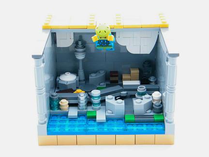 LEGOスカイダイビング