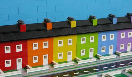 LEGOレインボーハウス