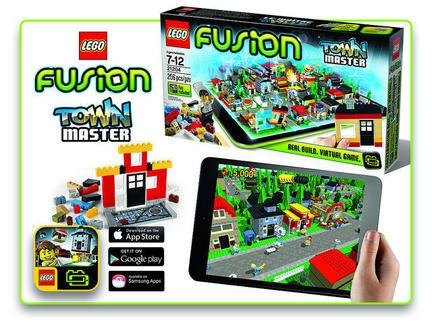 LEGOとタブレット両方を使って遊ぶゲーム『LEGO FUSION』