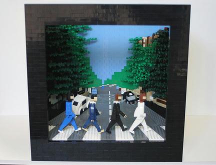 LEGOザ・ビートルズ「アビーロード」
