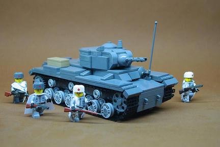 LEGO KV-1S重戦車