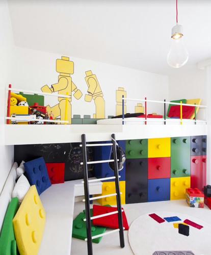子供ウハウハのLEGO部屋