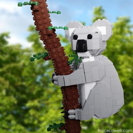 LEGOコアラ