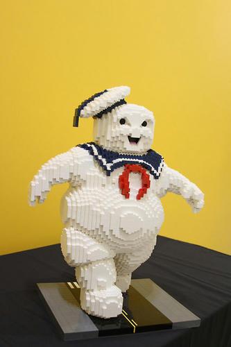 LEGOマシュマロマン