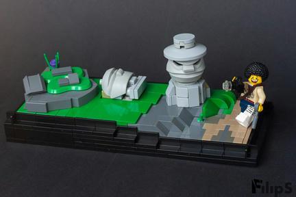 LEGOイースター島