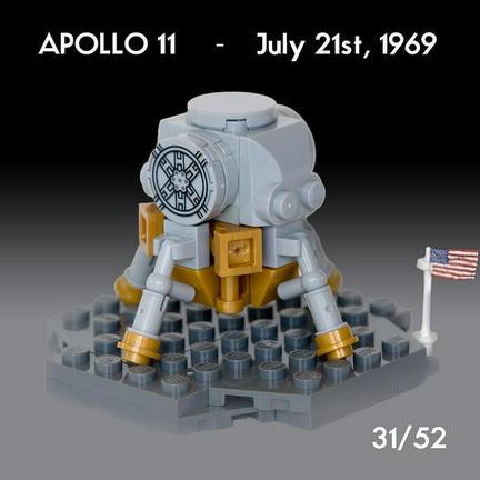 LEGO月面軟着陸