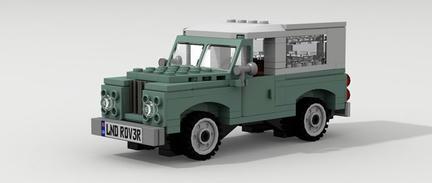 LEGOランドローバー・シリーズI