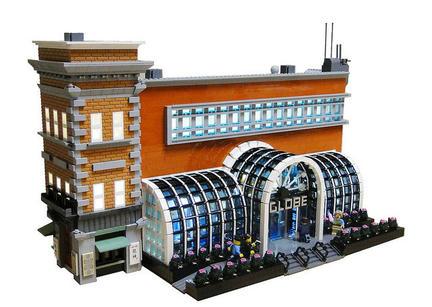 LEGO製ボストン・グローブ社